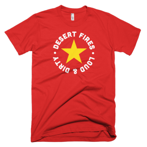 Desert Fires Star Logo Short-Sleeve T-Shirt